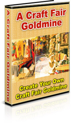 Product picture A Craft Fair Goldmine + resell rights w/mrr