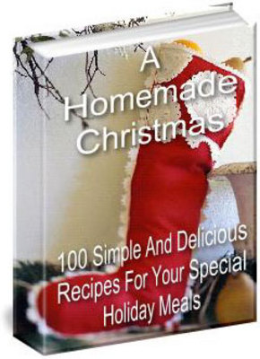 Product picture A Home Made Christmas + resell rights w/mrr