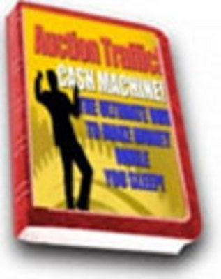 Product picture Auction Traffic Unlock Doors To New Streams Of Income w/mrr