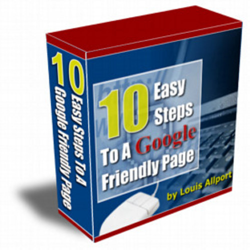 Product picture 10 Easy Steps To A Google Friendly Page mrr