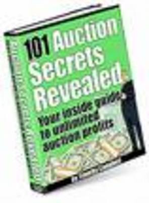 Product picture 101 Auction Secrets Revealed with mrr/resell rights