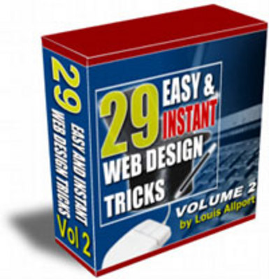 Product picture 29 Easy & Instant Web Design Tricks - Volume 2 with mrr